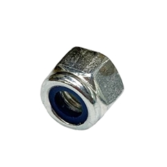 M8 Nylock Nut BZP, Pack of 25