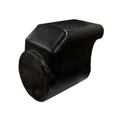 Black Plastic Motor Cover