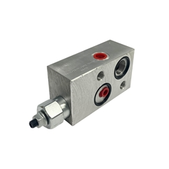 Hydraulic Single Overcentre Counter Balance Valve, 1/2 , With Brake Unclapping for Danfoss Motors