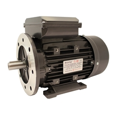 Three Phase 200v Electric Motor, 0.55Kw 4 Pole 1500rpm, Frame Size D71, With Flange And Foot Mount