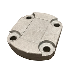 Gear Pump Rear Cover Alloy Group 2