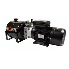 UP100 110V AC 50HZ 1 Phase Single Acting Solenoid Operated Hydraulic Power unit, 1.68 L/min, 5L Tank