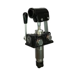 GL Tank Mounted Double Stroke Handpump for a Single Acting Cylinder, For Load Holding Applications, 6CC
