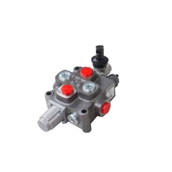 Galtech 1 Bank, 1/2 BSP, 90 l/min Double Acting Cylinder Spool 3 Position, Spring Return Hydraulic Monoblock Valve