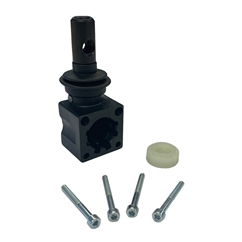 Lever Pivot Box, Plastic, With M10 Thread for Handlever, For Galtech Q25 & Q45 Valves