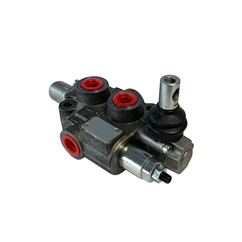Flowfit 1 Bank Monoblock Valve, 1/2 , 45 L/Min Double Acting Cylinder Spool 3 Positions without HPCO