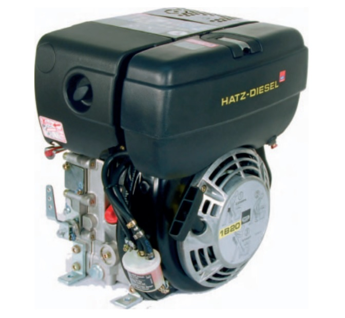 hatz diesel engine 1b40 9 2hp with 12 volt start. Black Bedroom Furniture Sets. Home Design Ideas