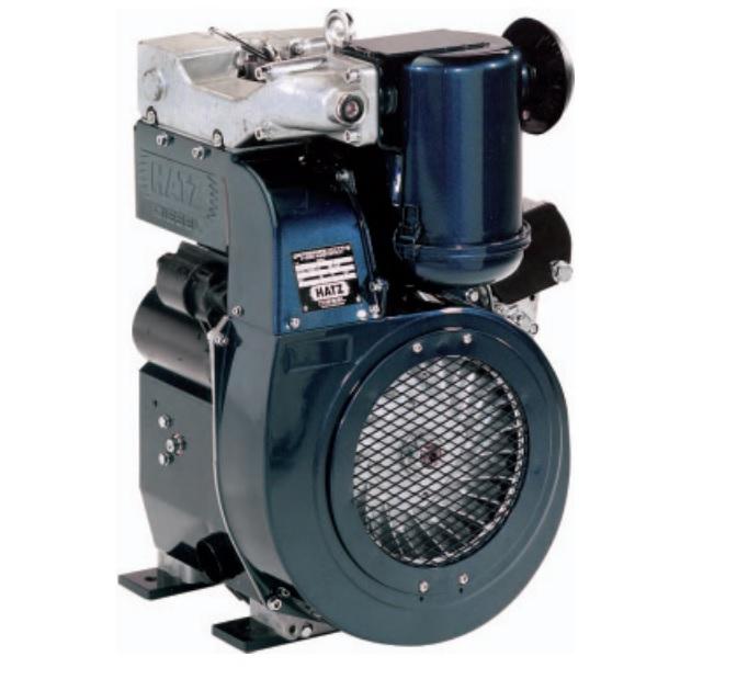 hatz diesel engine 2g40 20hp with 12 volt start. Black Bedroom Furniture Sets. Home Design Ideas