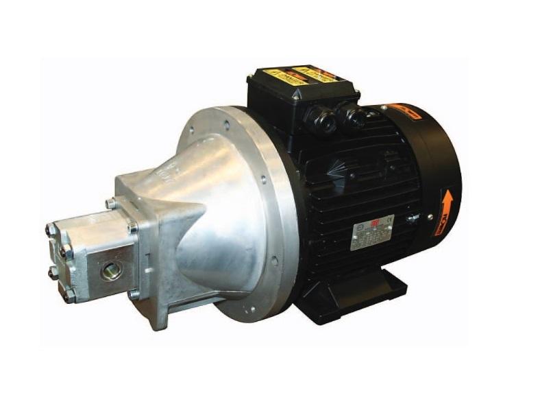 Electric motor hydraulic pump set 240v 1 1kw 3 6 l min for Electric motor hydraulic pump