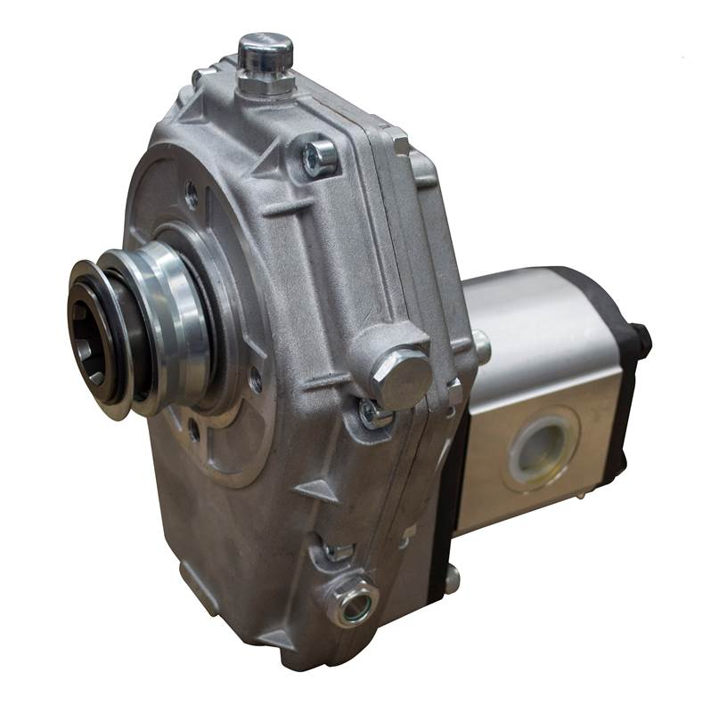 Hydraulic pto gearbox 1 3 5 c w group 3 pump 29 3cc 55 for Hydraulic motor with pto spline