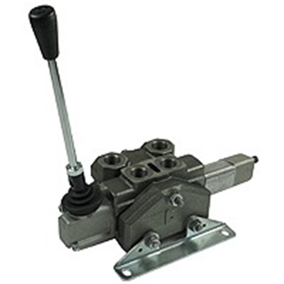 Hydraulic Hand Control Valve : Hydraulic hose reel slice valves without flow control