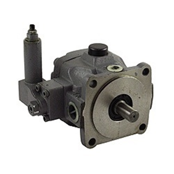 Hydraulic single vane pump @ 1500 RPM = 33.3 litre, pressure range 70-140 Bar