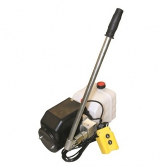 Flowfit 12VDC Single Acting Hydraulic Power pack with 8L Tank & Back up handpump ZZ005132