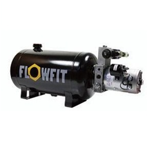 UP100 24VDC Double Acting Solenoid Operated Hydraulic Power unit, 7.5 L/min, 18L Tank
