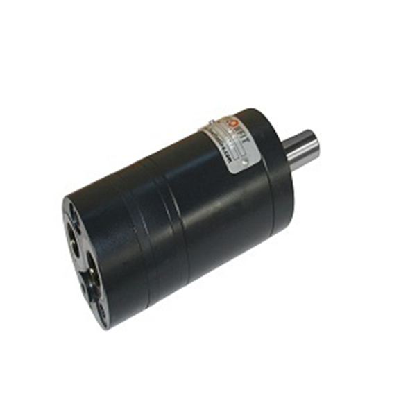 "Flowfit Hydraulic Motor 19,9 CC/Rev shaft G 3/8"", 16mm parallel keyed shaft"