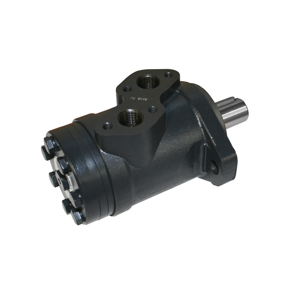 Hydraulic motor 197,9 cc/rev 25mm parallel keyed shaft c/w high pressure seal, wheel mount