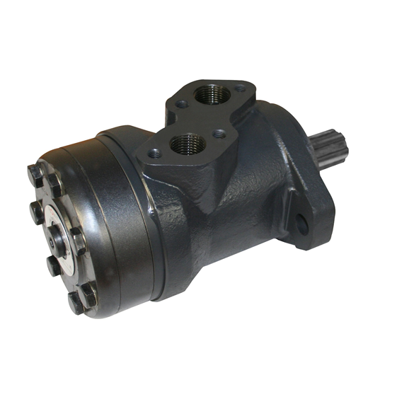 Hydraulic motor 396,5 cc/rev 25mm parallel keyed shaft c/w high pressure seal, c/w needle bearing