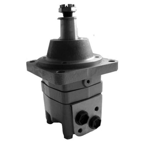 Hydraulic motor 125,2 cc/rev cyl. wheel mount, 4-hole, 32mm parallel keyed shaft