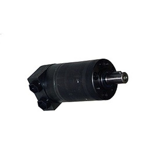 M+S hydraulic mini motor 8 CC/Rev, 16mm straight keyed shaft with side ports