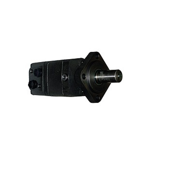 M+S Hydraulic Motor 100 CC/Rev, 4 bolt mount, 32mm straight keyed shaft.