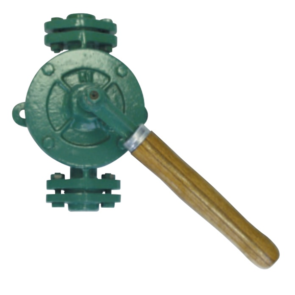 "Double acting semi-rotary hand pump, 3/4"""""""" BSP flange"