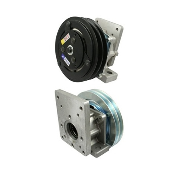 Flowfit Hydraulic Electromagnetic clutch 24V 10 Kgm/daNm Group 1 and 2 Flange 29-30903-1