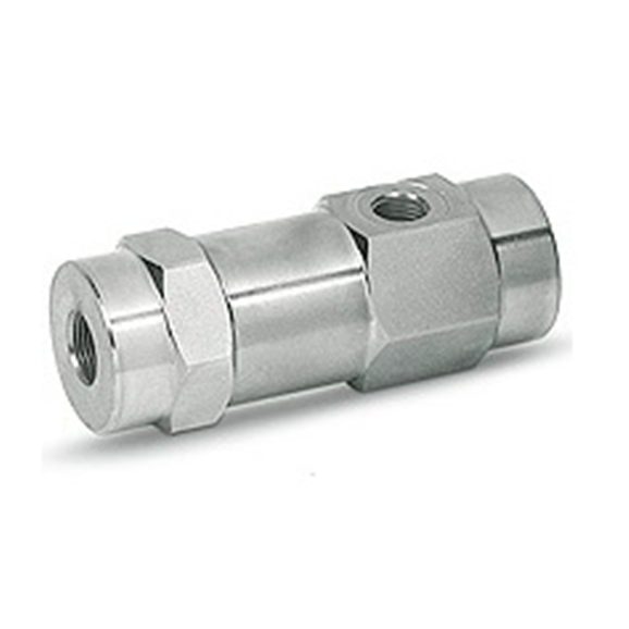 Hydraulic 3 way single pilot operated check valve, VBPSL 3/8""