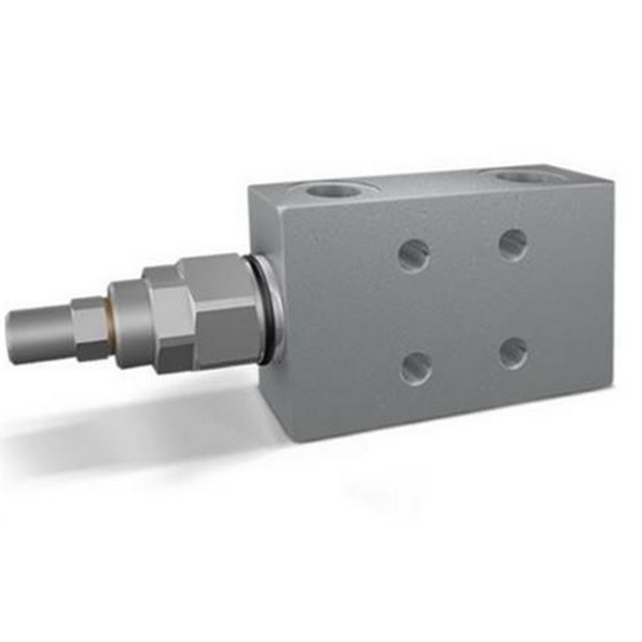 "Hydraulic single overcentre valves flangeable, closed centre, VBCD 3/8"" SE FLC CC, pilot ratio 1:4,5"
