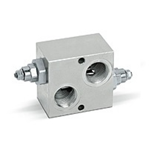 Hydraulic differential dual cross line relief valve, VAU 1""""