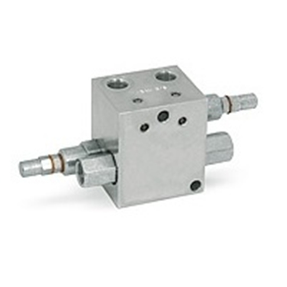 Hydraulic cross line relief valve with DPOC, VBAU 3/8""