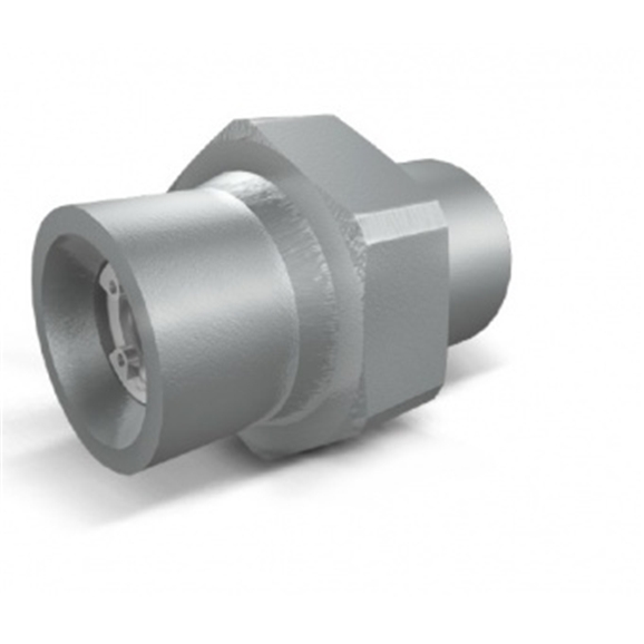 "Hydraulic inline male check valve, VU MM 1/4"", 1BAR"