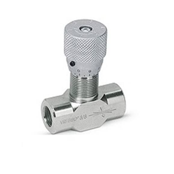 "Hydraulic flow control valves without check VRFB, 1/2"""" BSP"