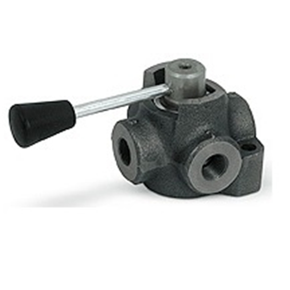"Hydraulic 4 way diverter valve closed centre, 1/4"""" BSP"