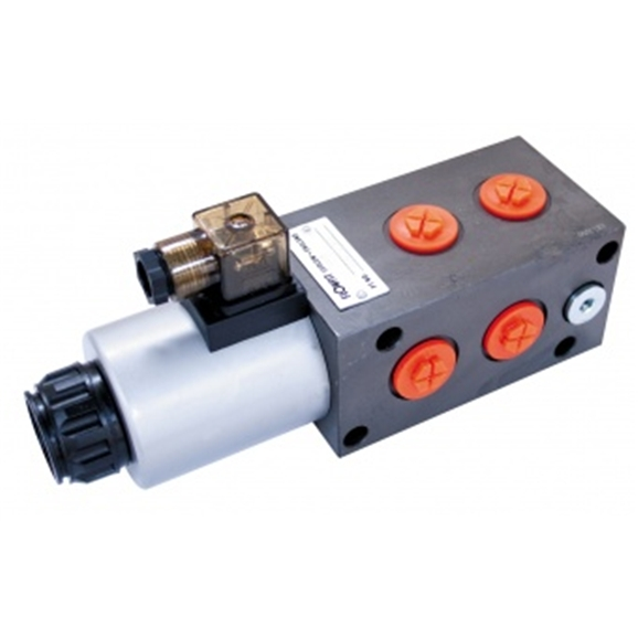 "Flowfit 6 way solenoid diverter, 3/4"""" Bsp port size, 24 Vdc"