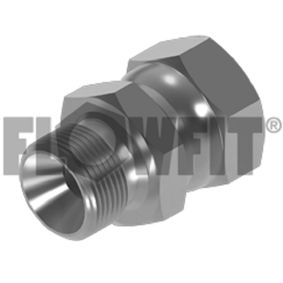 "BSP Male x BSP Swivel Female, 1/2"""" x 1/4"""""