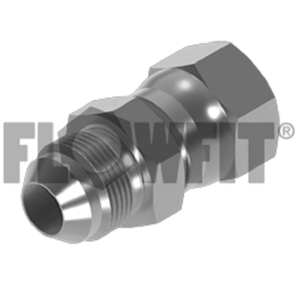 "Hydraulic adaptor JIC male x JIC swivel female, 9/16"" x 3/4"""