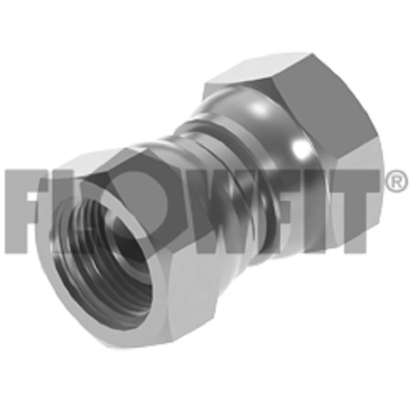 "BSP Swivel Female x BSP Swivel Female, 1/8"" x 1/8"""