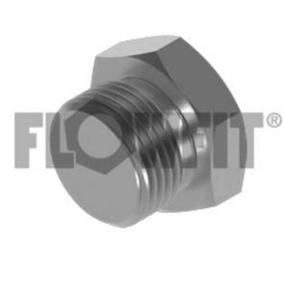 SAE O'ring Boss Male Solid Plug, 1-7/8""