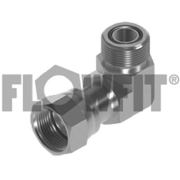 ORFS Male x ORFS Swivel Female 90° Forged Compact Elbow, 1-11/16""