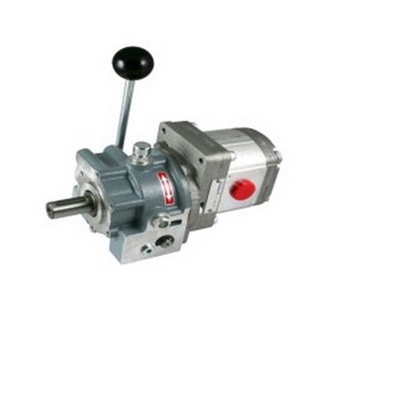 Mechanical clutch and Pump assembly, 44cc  group 3 pump, 79.2l/min at 200Bar at 1800rpm, 31Kw Output ZZ000477