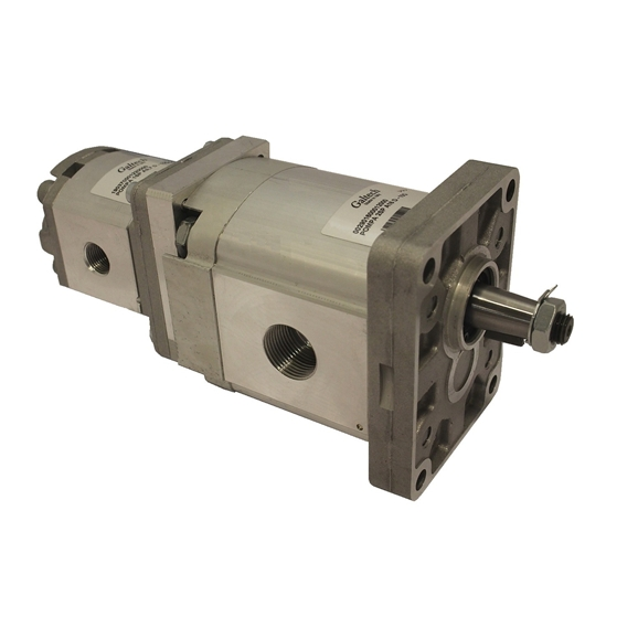 Group 2 to Group 1 Hydraulic Tandem Pump - 11 CC to 0.9 CC