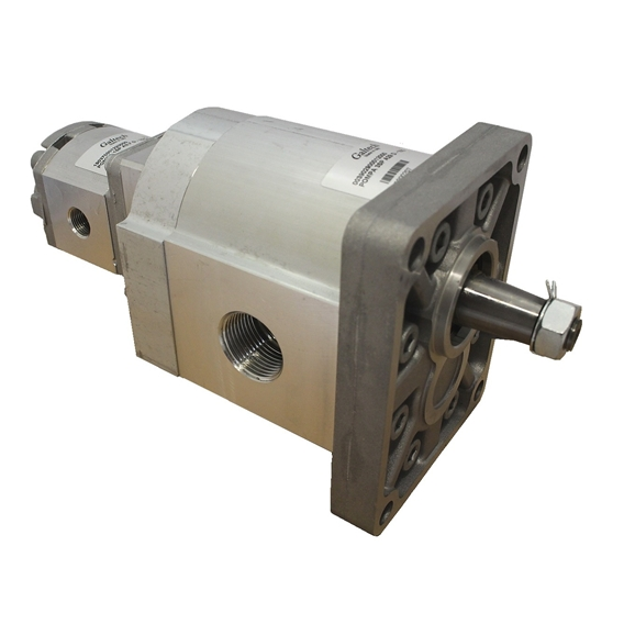 Group 3 to Group 1 Hydraulic Tandem Pump - 22 CC to 6.3 CC