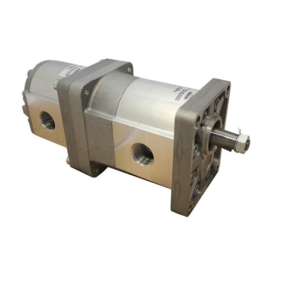Group 3 to Group 3 Hydraulic Tandem Pump - 62 CC to 52 CC