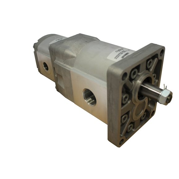 Group 3 to Group 2 Hydraulic Tandem Pump - 77 CC to 19.5 CC