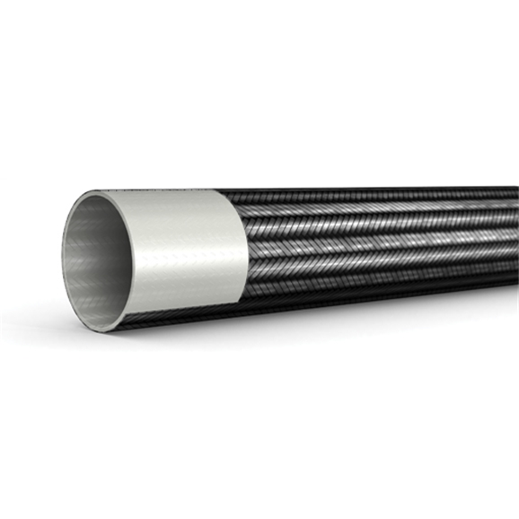 "Smooth Bore PTFE Hose, 3/8"" Bore"
