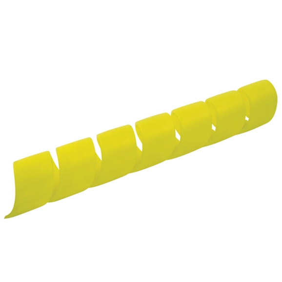 Protective Hose Sleeve, Yellow, Polypropylene - 16mm Bore, 20 Metres