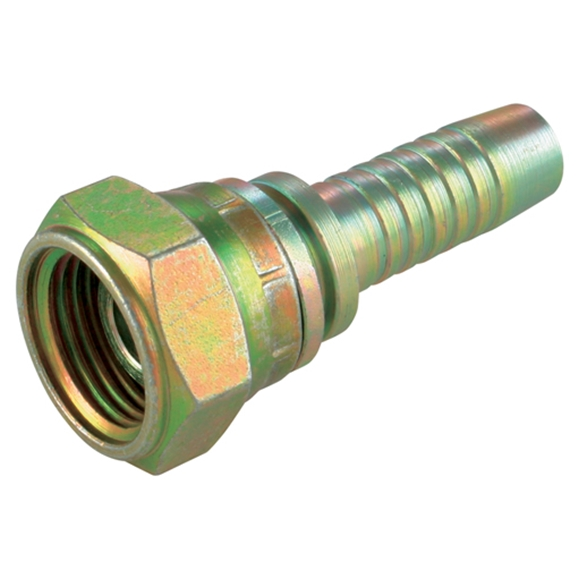 "BSPP Femalee Swivel - 3/4"""" BSPP, Suits 1/2"""" Hose"
