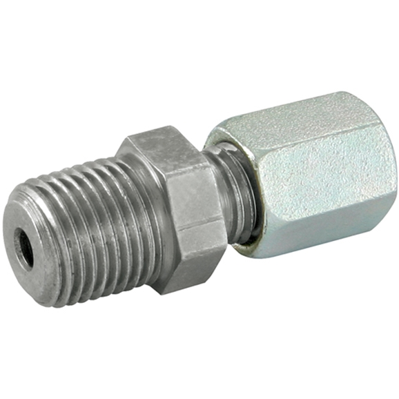 NPT, Light Duty, Thread Size 1/4'', OD 12mm