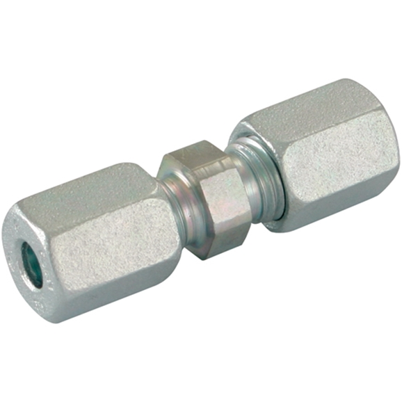 Straight Couplings, Equal Straight, Heavy Duty, OD 6mm