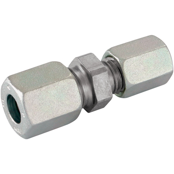 Reducing Couplings, Unequal Straight, Light Duty, Outside Diameter A 12mm, Outside Diameter B 8mm